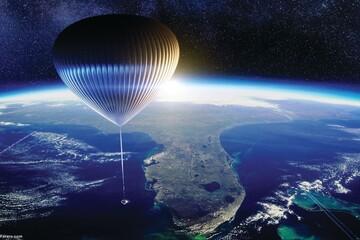رونمایی از بالن برای سفر به فضا / فیلم