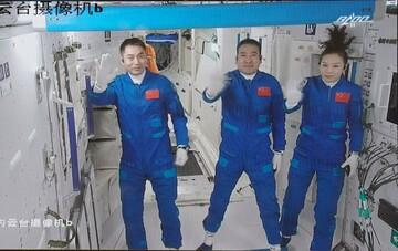 چینیها در فضا کنسرت برگزار کردند