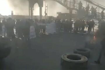 تصاویری از تظاهرات عراقیها در اعتراض به نتایج انتخابات / فیلم