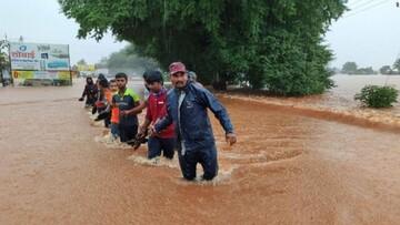 ۲۵ کشته در پی وقوع سیلاب در هند