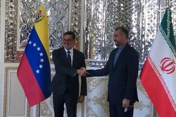 دیدار وزرای خارجه ایران و ونزوئلا در تهران / فیلم