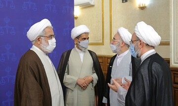 جلسه شورای عالی قوه قضاییه با حضور اژهای / تصاویر