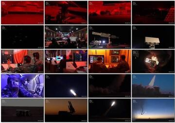 تصاویر دیدنی از انهدام اهداف توسط پدافند هوافضا / فیلم