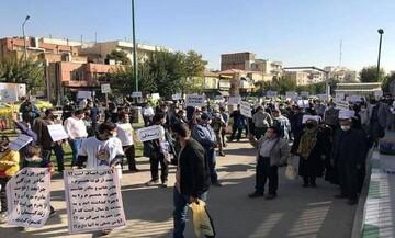 مخالفان مهریه مقابل مجلس تجمع کردند / عکس
