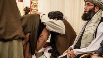 پخش تصویر حقانی توسط طالبان جنجالی شد / عکس