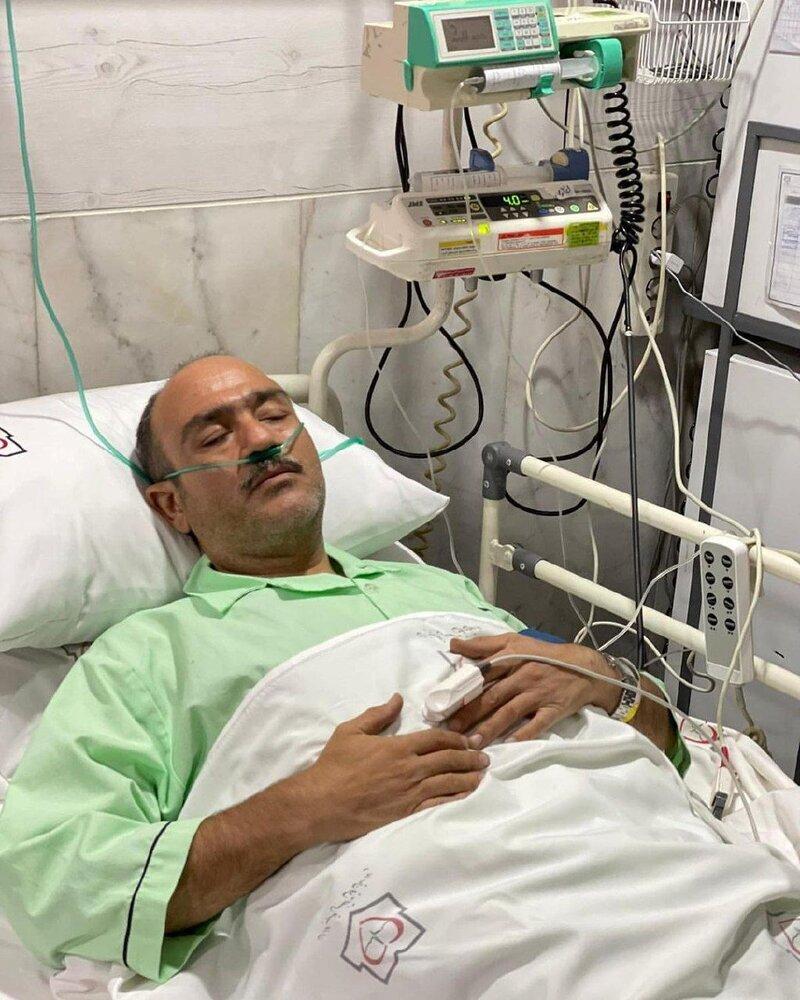 مهران غفوریان، بازیگر سینما و تلویزیون سکته قلبی کرد