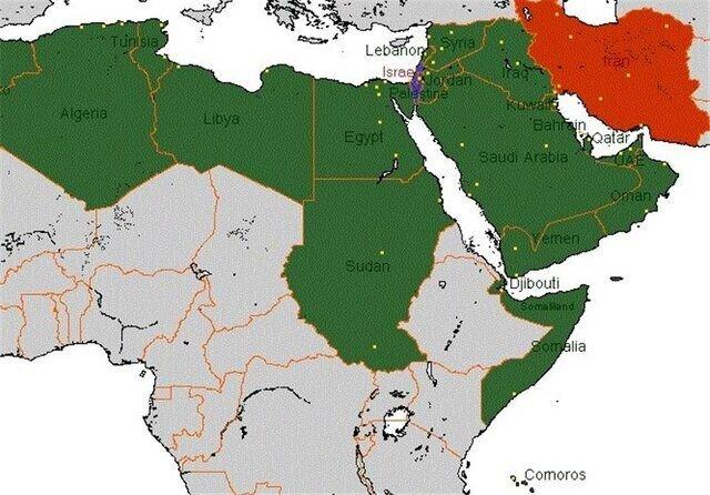 گرم شدن روابط ایران با کشورهای عربی رژیم صهیونیستی را نگران کرد