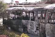 انفجار اتوبوس در دمشق / ۱۳ نظامی سوری جان باختند / فیلم