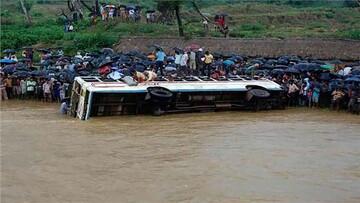 سقوط مرگبار کامیون به داخل رودخانه در کنگو با ۵۰ کشته