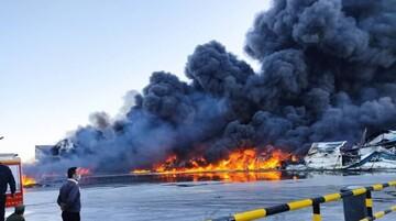 یکی از کارخانههای بزرگ تولید روغن در کشور آتش گرفت / کمبود روغن در راه است؟
