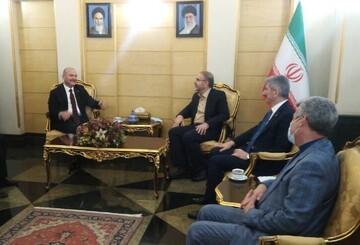 ورود وزیر کشور ترکیه به تهران