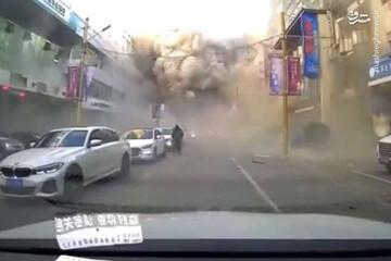 انفجار شدید در چین / فیلم
