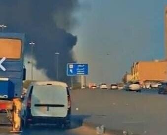 وقوع انفجار مهیب در انبار سلاح و مهمات در عربستان