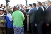 ترکی حرف زدن ابراهیم رئیسی در اردبیل / فیلم