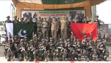 رزمایش مشترک نظامی پاکستان و مراکش برگزار شد