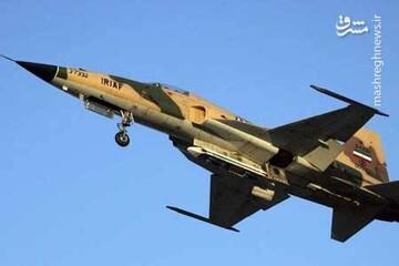 نقطهزنی جنگندههای F۵ نیروی هوایی ارتش / فیلم