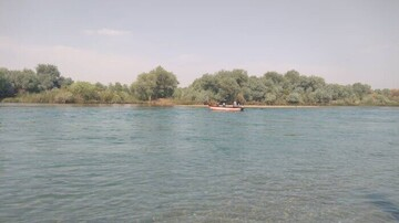 رودخانه کارون در گتوند ۲ نفر را بلعید
