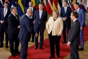 رهبران اروپا با مرکل خداحافظی کردند