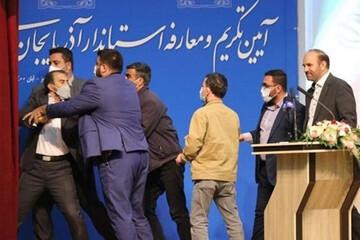 دلجویی نمایندگان مجلس از استاندار جدید آذربایجان شرقی / فیلم