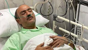 اشکهای های مهران غفوریان بعد از عمل قلب / فیلم