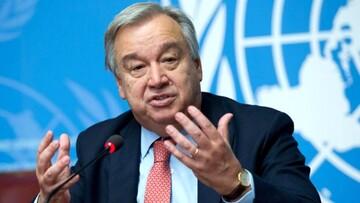 توئیت دبیرکل سازمان ملل در حمایت از زنان افغانستان