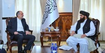 دیدار سفیر ایران با وزیر خارجه طالبان