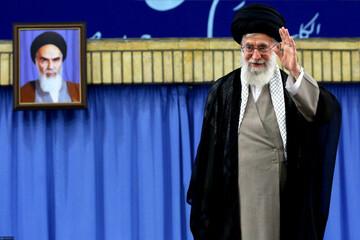 دیدار جمعی از مسئولان و مهمانان کنفرانس وحدت اسلامی با رهبر معظم انقلاب