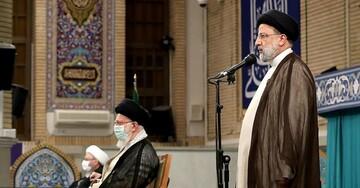 دیدار سران قوا و میهمانان کنفرانس وحدت اسلامی با رهبر انقلاب / تصاویر