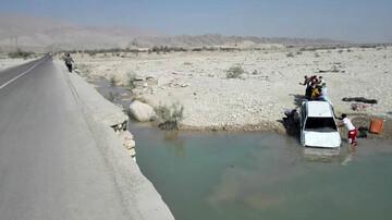 سقوط وحشتناک پراید در رودخانه / ۳ عضو یک خانواده جان باختند + عکس