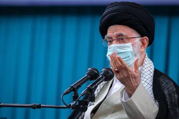 بیانات رهبر انقلاب در دیدار مهمانان کنفرانس وحدت اسلامی / فیلم