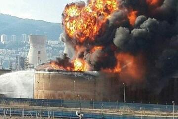 انفجار در پالایشگاه نفت نیجریه ۲۵ کشته برجای گذاشت