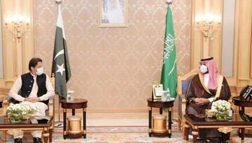 عمران خان و بن سلمان در ریاض دیدار کردند