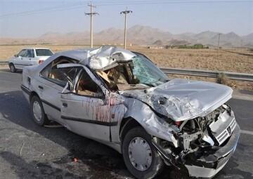 در واژگونی یک پژو ۱۸ نفر کشته و مصدوم شدند!