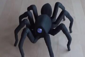 رونمایی از ربات عجیبی که رفتار حیوانات را تقلید میکند! / فیلم