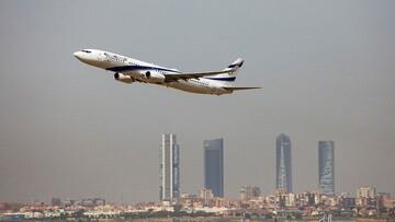 اولین هواپیمای اسرائیلی در عربستان به زمین نشست