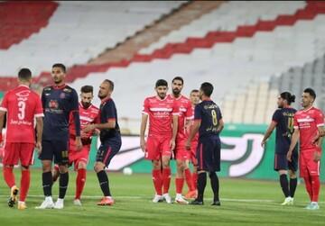 جدول لیگ برتر فوتبال پس از پیروزی پرسپولیس مقابل نساجی