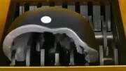 ویدیو تماشایی از خرد کردن اشیاء مختلف با دستگاه خردکن