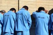 دستگیری ۱۷ سارق حرفهای در بروجرد