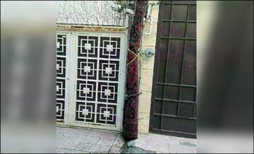 ماجرای فرش ضد سرقت در مشهد چیست؟ / عکس
