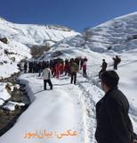 ریزش بهمن جان یک کوهنورد را گرفت