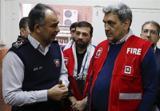 بازدید شهردار تهران از  مرکز مانیتورینگ آتشنشانی تهران