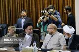 اولین عکس احمدی نژاد و قالیباف بعد از ملاقات جنجالی