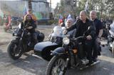 رئیس جمهور روسیه موتورسوار شد! +فیلم