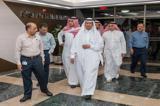 وزیر انرژی عربستان برای بررسی شرایط به آرامکو رفت +عکس