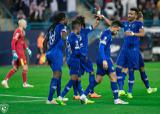 الهلال بازی  رفت فینال لیگ قهرمانان آسیا را با یک گل از اوراواردز بُرد