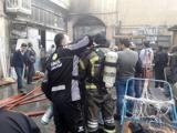 آتش در بازار تهران خاموش شد