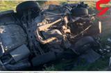 واژگونی مرگبار پژو در ایلام+عکس