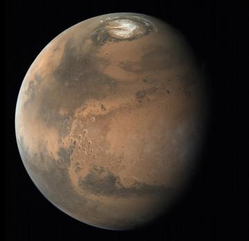دانشمندان در سطح مریخ یخ کشف کردند