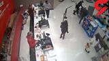 مرد معلول در فروشگاه آزار دید +فیلم
