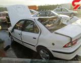 ماشین آتش نشانی  در لنگرود حادثه آفرید!